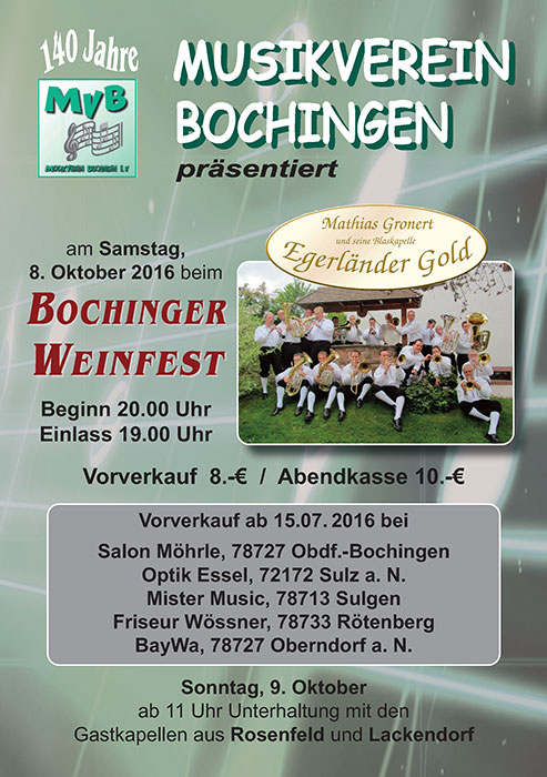 Flyer Egerlaender Gold